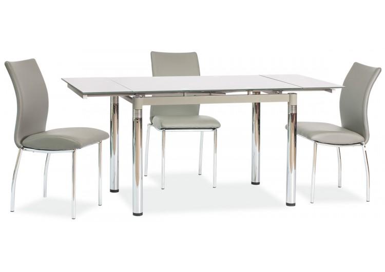Стол обеденный Signal GD-018 110 раскладной (серый)