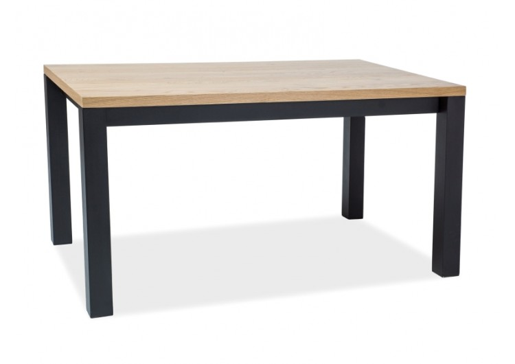 Стол обеденный Signal IMPERIAL 180 (дуб натуральный/черный)