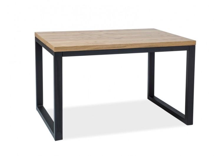 Стол обеденный  LORAS II 180 (дуб натуральный/черный)