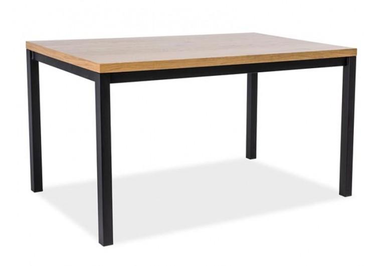Стол обеденный Signal  NORMANO 150 (дуб натуральный/черный)