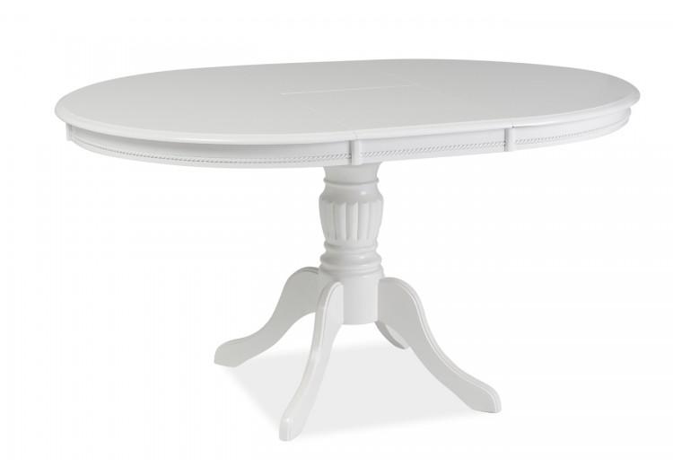 Стол обеденный Signal OLIVIA 105 раскладной (белый)