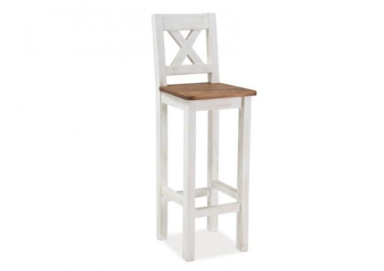 Барный стул Signal POPRAD (медово-коричневый/сосна)