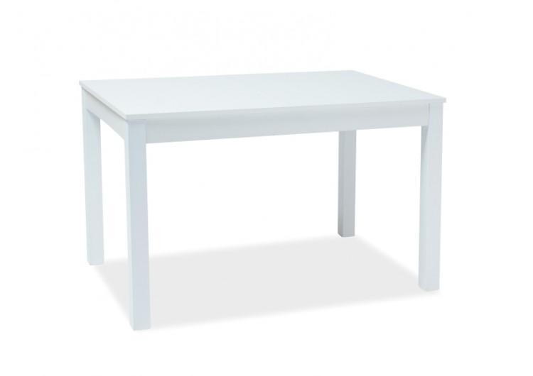 Стол обеденный Signal PRISM 120 раскладной (белый)