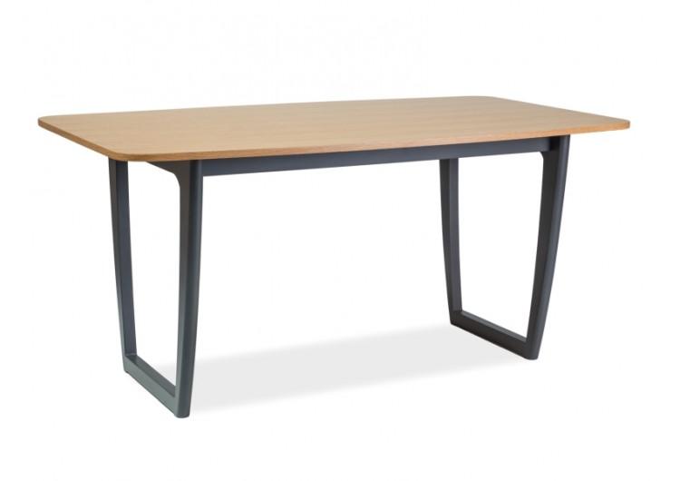 Стол обеденный Signal  QUADRO 160 (дуб/графит)