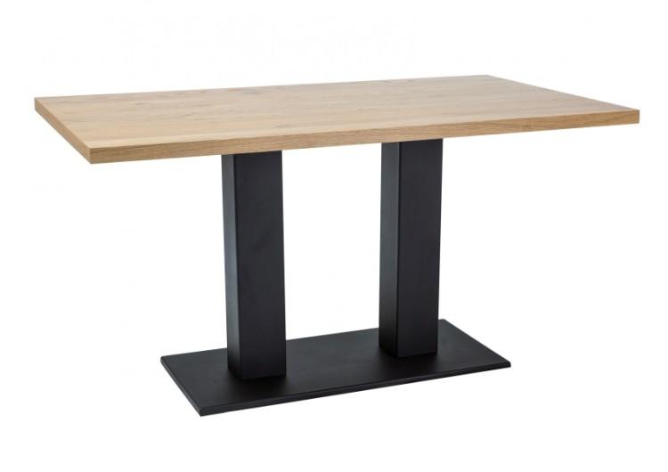 Стол обеденный Signal  SAURON 150 (дуб/черный)