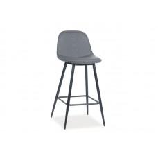 Барный стул Signal TEO H-1 (серый/черный)