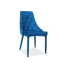 Стул кухонный Signal TRIX Velvet (синий)