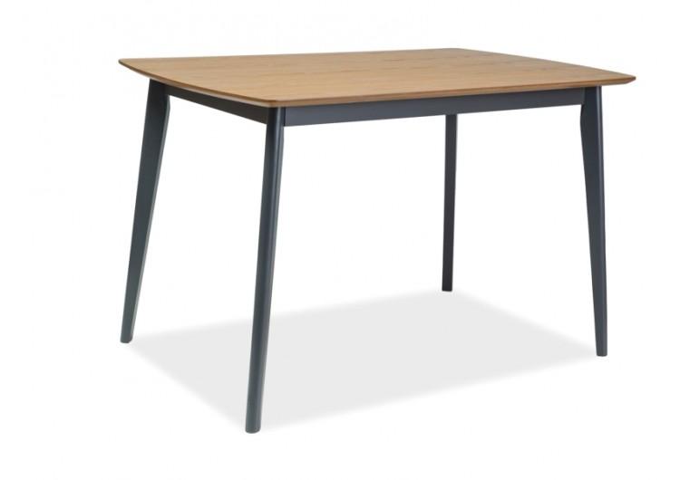 Стол обеденный Signal VITRO 120 (дуб/графит)