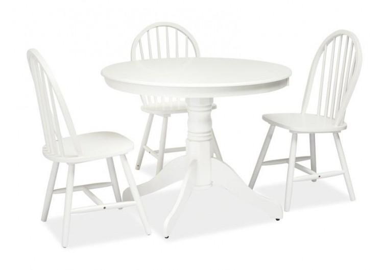 Стол обеденный Signal WINDSOR 100 (белый)