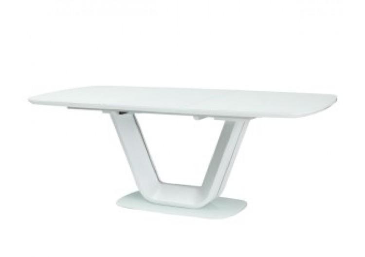 Стол обеденный Signal  ARMANI 160 раскладной (крем)