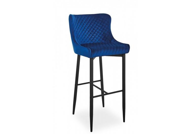 Барный стул  COLIN B VELVET H-1