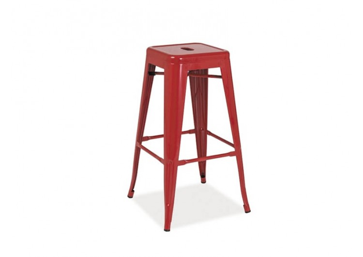 Барный стул Signal LONG красный