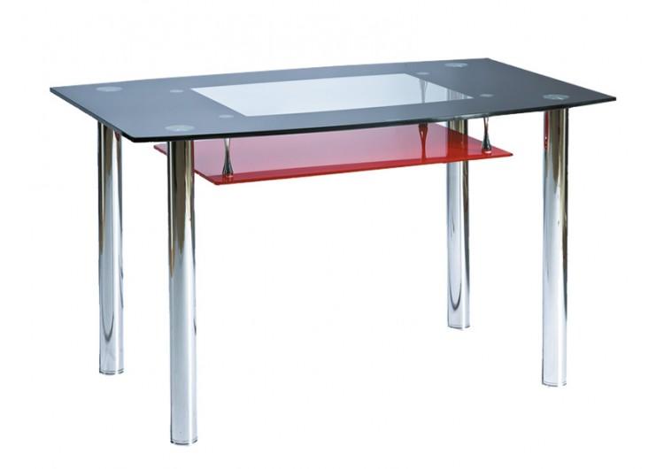 Стол обеденный Signal  TWIST A (красно-черный)