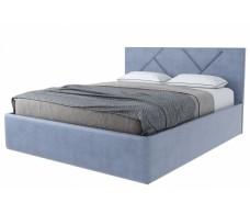 Кровать Stolline Лима с подъемным механизмом серо-голубая