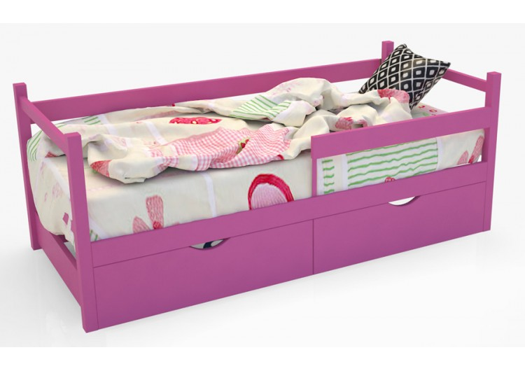 Кровать-тахта «Skandi» розовый