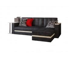 Фаворит угловой диван с баром