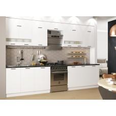 Модульная кухня Дуся Белый бриллиант