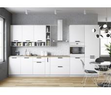 Модульная кухня Ройс Белый Софт