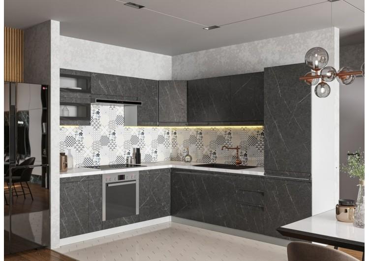 Кухня ДСВ Мебель Вариант фасада Скала Гранит Оникс
