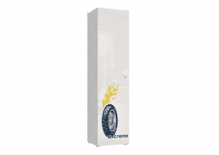 Шкаф 1-дверный Модерн - Квадро