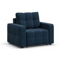 Кресло-кровать Dandy рогожка Malmo синий