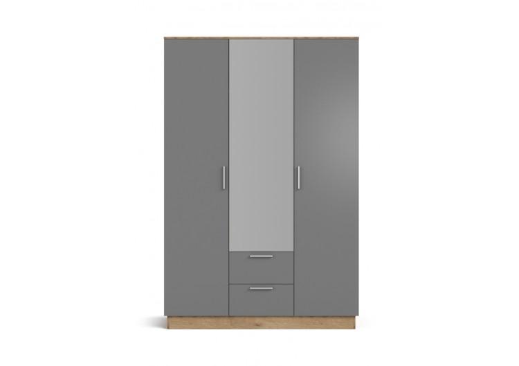 Шкаф РИМ-150 крафт табачный, cерый графит