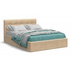 Кровать Белла 140*200 велюр Monolit санд