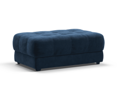 Пуф BOSS XL велюр Monolit синий