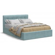 Кровать Белла 140*200 велюр Monolit аква