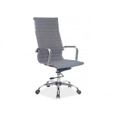 Кресло компьютерное SIGNAL Q-040 серое\ткань