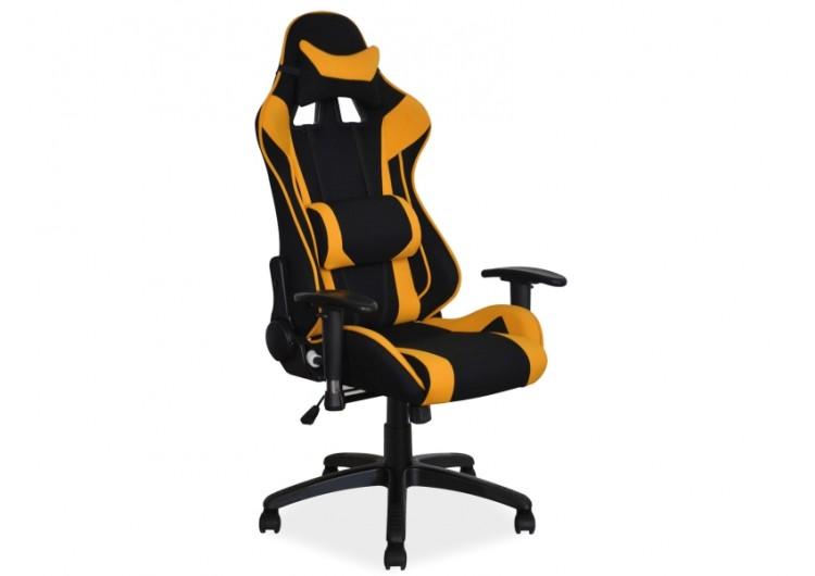 Кресло компьютерное SIGNAL VIPER черный/желтый
