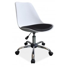 Кресло компьютерное  Q-777 бело\черное