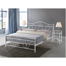 Кровать SIGNAL DENVER белый, 160/200 NEW