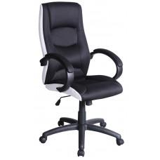 Кресло компьютерное SIGNAL Q-041 черно\белое