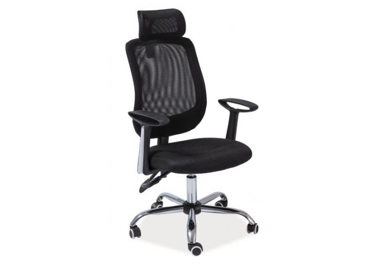 Кресло компьютерное SIGNAL Q-118 черное