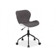 Кресло компьютерное SIGNAL RINO белый/серый NEW