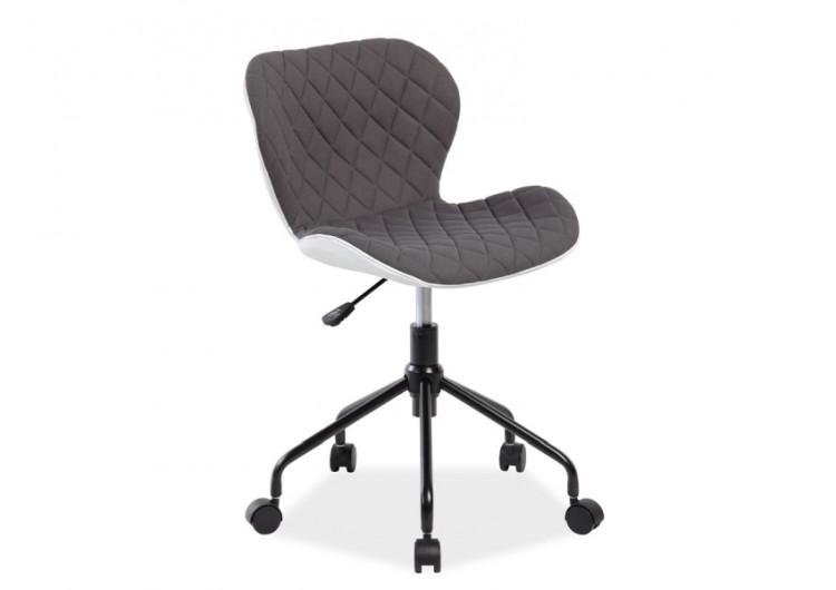 Кресло компьютерное SIGNAL RINO белый/серый