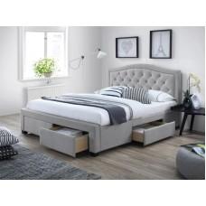 Кровать SIGNAL ELECTRA серый, 160/200 NEW