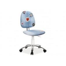 Кресло компьютерное  ZAP 2 синий деним NEW