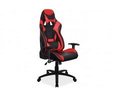 Кресло компьютерное SIGNAL SUPRA черный/красный