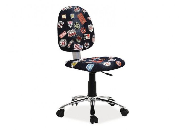 Кресло компьютерное SIGNAL ZAP 1 черный деним NEW