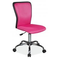 Кресло компьютерное SIGNAL Q-099 розовое