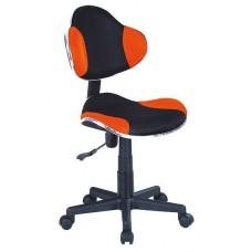 Кресло компьютерное  Q-G2 оранжево\черное
