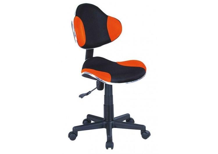 Кресло компьютерное SIGNAL Q-G2 оранжево\черное