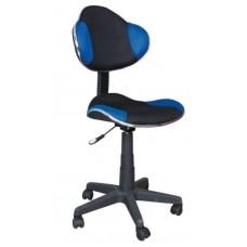 Кресло компьютерное  Q-G2 сине\черное