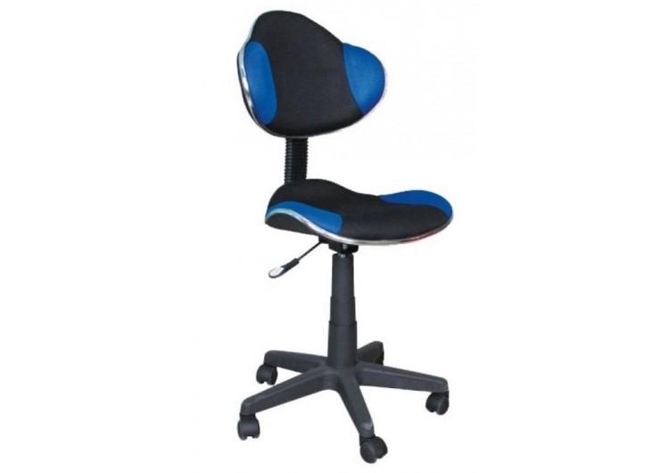 Кресло компьютерное SIGNAL Q-G2 сине\черное