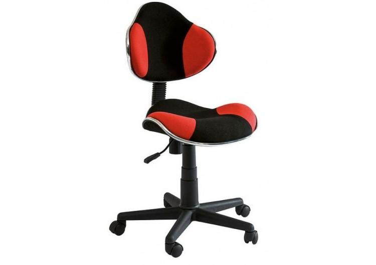 Кресло компьютерное SIGNAL Q-G2 красно\черное