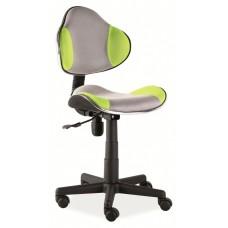 Кресло компьютерное  Q-G2 зелено\серое