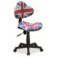 Кресло компьютерное SIGNAL Q-G2 флаг