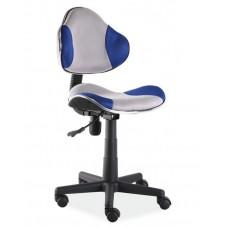 Кресло компьютерное SIGNAL Q-G2 сине\серое
